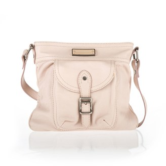 light-pink-leather-square-crossbody-bag