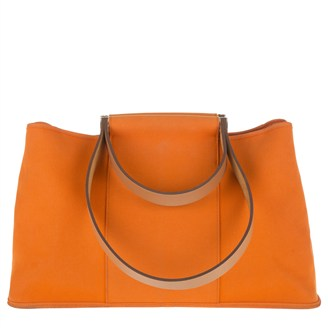 orange-fabric-handbag