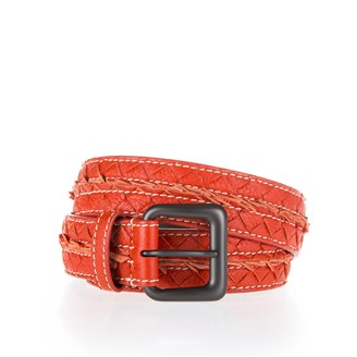 orange-leather-belt
