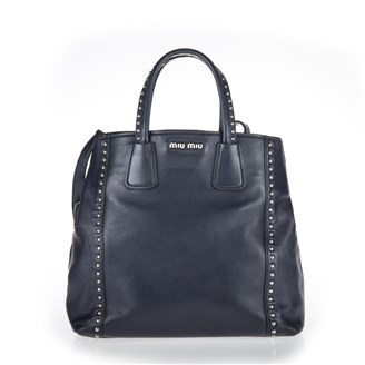 large-navy-blue-leather-tote-with-silver-studs-hand-bag