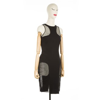 black-dress-with-mesh-inserts