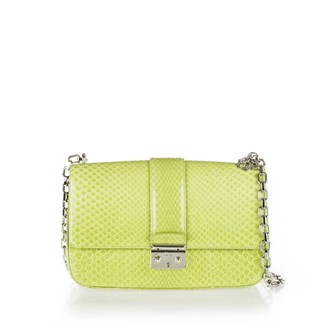 light-green-python-printed-crossbody-bag