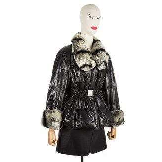 puffer-jacket-with-rex-rabbit-fur
