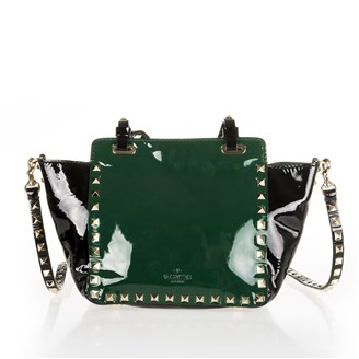 studded-black-and-green-bag