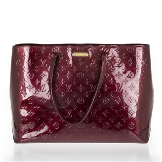burgundy-patent-leather-monogram-tote