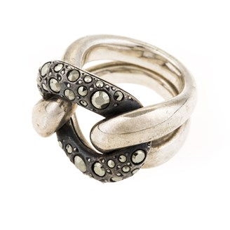 silver-knot-ring