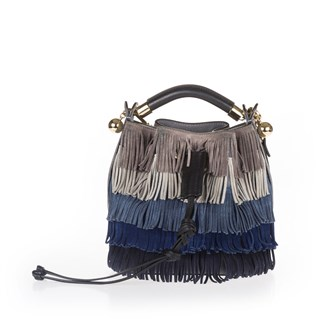 brown-beige-blue-fringed-gala-bucket-bag-long-strap