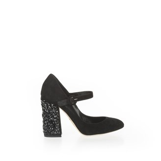 black-suede-round-toe-pump-with-black-embellished-block-heel