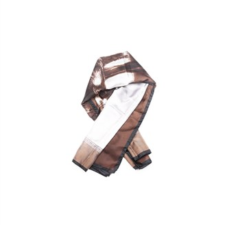 brown-silk-scarf