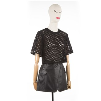 black-perforated-cropped-top