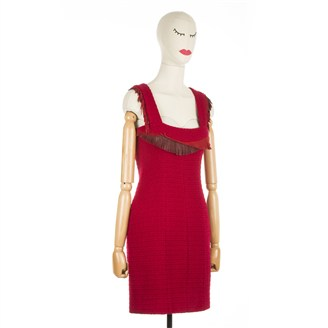 red-tweed-dress-with-leather-fringes