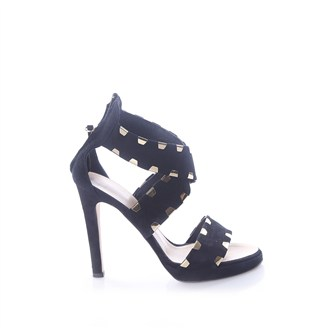 black-suede-and-gold-sandals